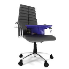 Free Bachelor S Hat In Office Chair Stock Photos - 14313373