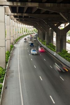 Free Road Under Highway Stock Photos - 14313413