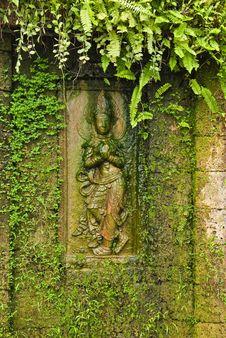 Free Apsara Sculpture Royalty Free Stock Image - 14313416