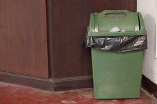Free Bin On Floor Royalty Free Stock Image - 14313486