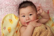 Free Baby Bath Stock Images - 14313654