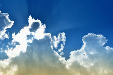 Free Blue Sky Royalty Free Stock Image - 14314266