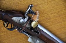 Free Flintlock Rifle With Stock Images - 14314704