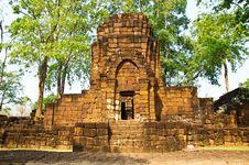 Free Khmer Stone Castles Stock Photos - 14314923