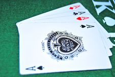 Free Four Aces Stock Images - 14314934