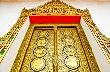 Free A Thailand Temple Pattern Royalty Free Stock Photos - 14315128