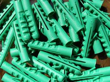 Free Green Dowels Background Stock Photo - 14315470