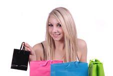 Free Shopping. Royalty Free Stock Photos - 14315908