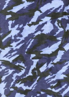Free Texture Textile - Camouflage Blue Stock Photography - 14316562