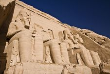Free Stone Statues In Egypt Stock Image - 14316741