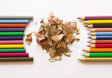 Free Fine-moulded And New Pencils Royalty Free Stock Photo - 14316815
