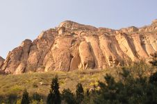 Free Great Golden Cliff Stock Image - 14317831