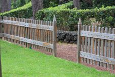 Free Park Fence Royalty Free Stock Photography - 14317867