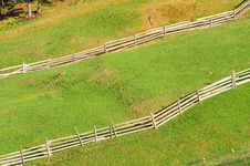 Free Mountain Rural Fence Stock Photography - 14317952
