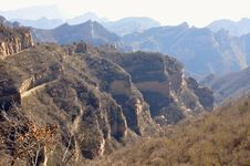 Free Top View Of Banshan Mountains Royalty Free Stock Images - 14318119