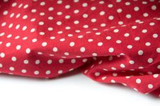 Free Red Polka Dot Background Royalty Free Stock Photo - 14318175