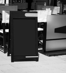 Free Blank Blackboard Stock Images - 14319584
