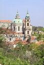 Free Prague S St. Nicholas  Cathedral Stock Image - 14320701