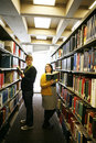 Free Reading In Library Royalty Free Stock Images - 14321069