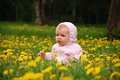 Free Little Girl In Park Royalty Free Stock Photography - 14324967