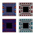 Free Mosaic Frame Royalty Free Stock Photo - 14325445