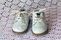 Free White Leather Baby Shoes Royalty Free Stock Images - 14328099