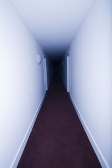 Free Hotel Corridor Royalty Free Stock Images - 14320629