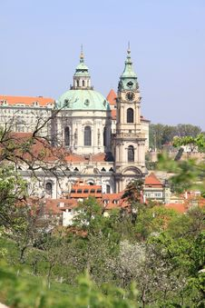 Free Prague S St. Nicholas  Cathedral Stock Image - 14320701