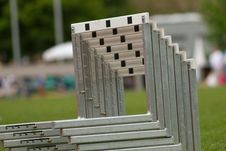 Free Hurdles Royalty Free Stock Photos - 14320958