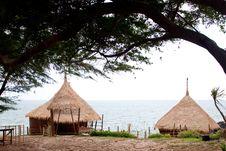 Resort Hut In Thailand. Stock Photography