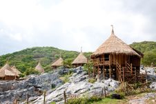 Free Resort Hut In Thailand. Stock Photography - 14321532