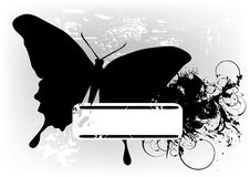 Free Black Butterfly Royalty Free Stock Photography - 14321767