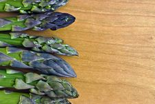 Asparagus Tips Royalty Free Stock Photos