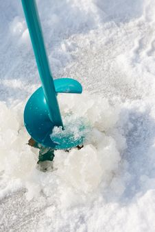 Free Ice-drill Stock Photos - 14322243