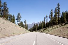 Free Desert Road Royalty Free Stock Photography - 14323047