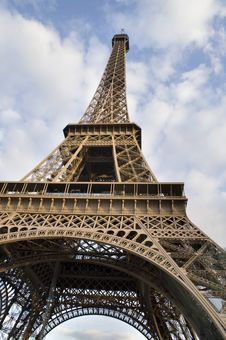 Picture Of Eiffel Tower Royalty Free Stock Photography