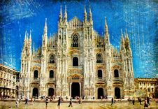 Free Milan Cathedral Stock Photography - 14323192