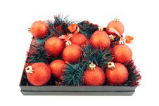 Free Set Of Christmas Balls Royalty Free Stock Photography - 14323367