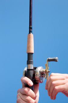 Free Fishing Reel Royalty Free Stock Image - 14323426