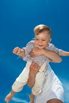 Free Flying Baby Stock Images - 14323614