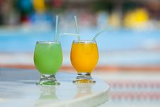 Free Tropical Cocktails Royalty Free Stock Photo - 14323625