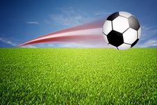Free Football Illustration Royalty Free Stock Photo - 14323825