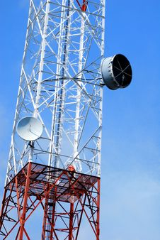 Free Telecommunication Tower Stock Image - 14323911
