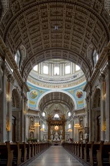 Free Looking Into The Cathedral Royalty Free Stock Image - 14323986