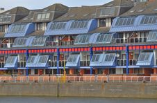 Free Riverside Apartments Royalty Free Stock Photography - 14324397