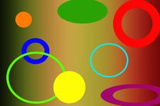 Free All Sized Colorful Circle Background Stock Photography - 14324932