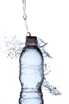 Free Water Splashing On A Water Bottle Stock Photo - 14325150