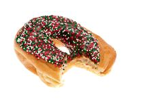 Free Donut With Chocolate Icing And Sprinkles Stock Photo - 14325400