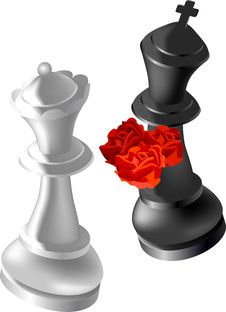 Free Chess In Love Stock Images - 14326454