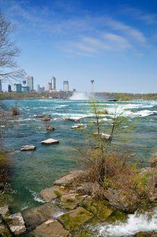 Free Niagara Falls Panorma Stock Photos - 14326843